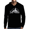 Just Married Disney Mens Hoodie