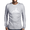 Just Married Disney Mens Long Sleeve T-Shirt