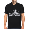 Just Married Disney Mens Polo