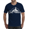 Just Married Disney Mens T-Shirt