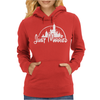 Just Married Disney Womens Hoodie