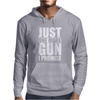 Just One More Gun I Promise Mens Hoodie