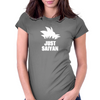 Just Saiyan Womens Fitted T-Shirt