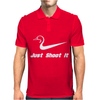 Just Shoot It Duck Mens Polo