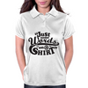 Just some words on a shirt Womens Polo