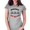 Justice Or Else: 20th Anniversary of the Million Man March  Womens Fitted T-Shirt