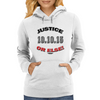 Justice Or Else: 20th Anniversary of the Million Man March  Womens Hoodie