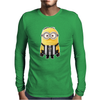 JUVENTUS MINIONS Movie Despicable Me Football Funny T-Shirt UNISEX Brand New Mens Long Sleeve T-Shirt