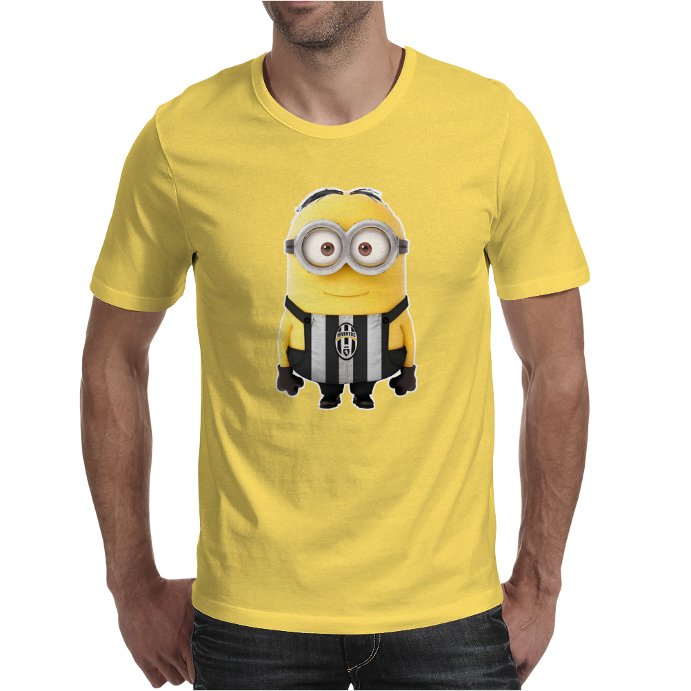 JUVENTUS MINIONS Movie Despicable Me Football Funny T-Shirt UNISEX Brand New Mens T-Shirt