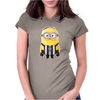 JUVENTUS MINIONS Movie Despicable Me Football Funny T-Shirt UNISEX Brand New Womens Fitted T-Shirt
