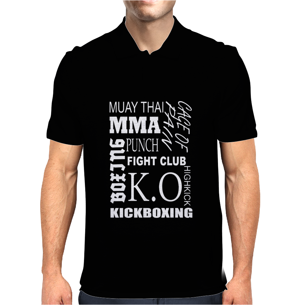 Kampfsport  Mma Mens Polo