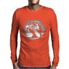 Kangaroo Boxing Mens Long Sleeve T-Shirt