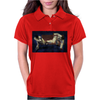 Karate kick Womens Polo