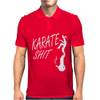 Karate Shit Funny Mens Polo