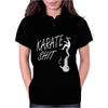 Karate Shit Funny Womens Polo