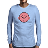 Karl Pilkington from the Ricky Gervais TV Show Mens Long Sleeve T-Shirt