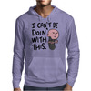 Karl Pilkington, I Cant Be Doin With This Mens Hoodie