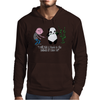 Karl Pilkington, I Will Kick A Panda Quote Mens Hoodie