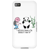 Karl Pilkington, I Will Kick A Panda Quote Phone Case