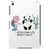 Karl Pilkington, I Will Kick A Panda Quote Tablet