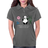 Karl Pilkington, I Will Kick A Panda Quote Womens Polo