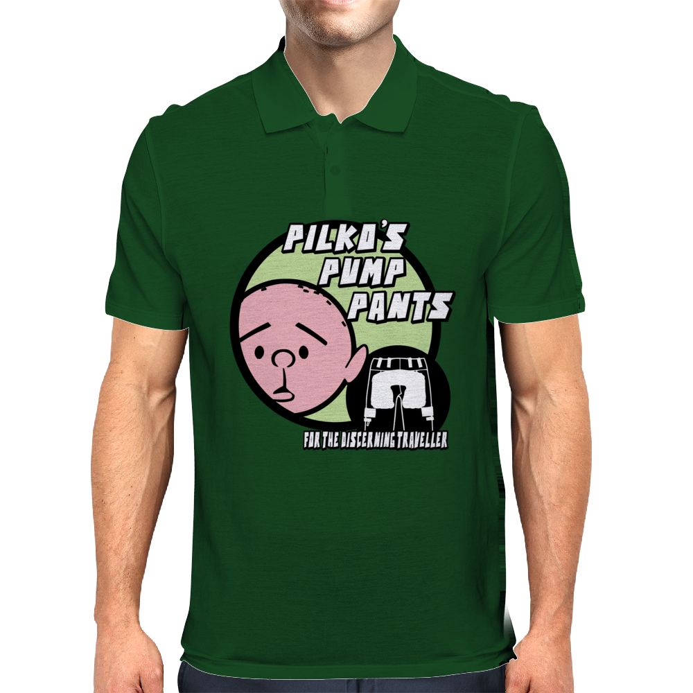 Karl Pilkington - Pilkos Pump Pants Mens Polo