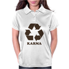 Karma Recycle Womens Polo