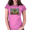 Karybyan  Womens Fitted T-Shirt