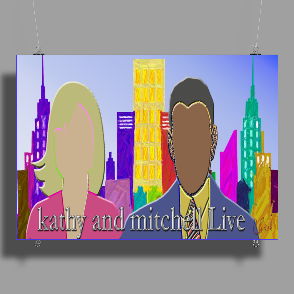 Kathy and Mitchell Live Poster Print (Landscape)