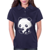 Kawaii Panda Anime Womens Polo