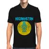 Kazakhstan Coat Of Arms Mens Polo
