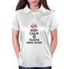 Keep Calm 0 fucks were given. Womens Polo