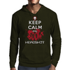 KEEP CALM AND BOOM HEADSHOT Mens Hoodie