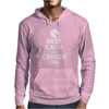 Keep Calm and Canter On Mens Hoodie