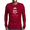 Keep calm and Carrie Mens Long Sleeve T-Shirt