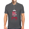 Keep calm and Carrie Mens Polo