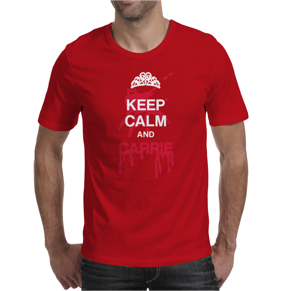 Keep calm and Carrie Mens T-Shirt