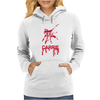 Keep calm and Carrie Womens Hoodie