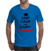 Keep Calm And Carry Canon Mens T-Shirt