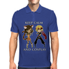 Keep Calm and Cosplay Mens Polo