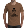 Keep Calm and Drink Scotch Mens T-Shirt