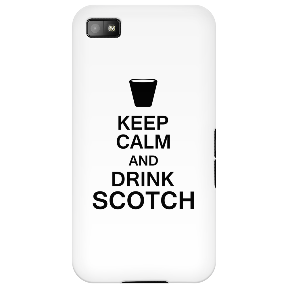 Keep Calm and Drink Scotch Phone Case