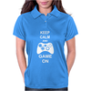 Keep Calm And Game On Womens Polo