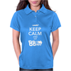 Keep Calm and Hit 88 MPH Time Travel Womens Polo