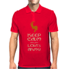 Keep Calm And Join Lokis Army Mens Polo