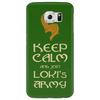 Keep Calm And Join Lokis Army Phone Case