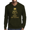 Keep Calm and Keep ER Goin! Mens Hoodie