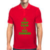 Keep Calm And Kill Zombies Mens Polo