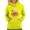 Keep Calm and Kill Zombies Womens Hoodie