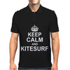 Keep Calm and KiteSurf Mens Polo